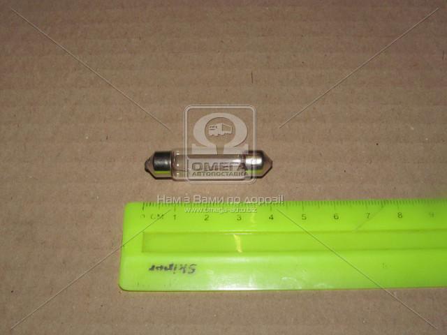 Лампа софитная C5W SV8,5-8 41mm 12V10W   DK-12V10W_C5W SV8,5-