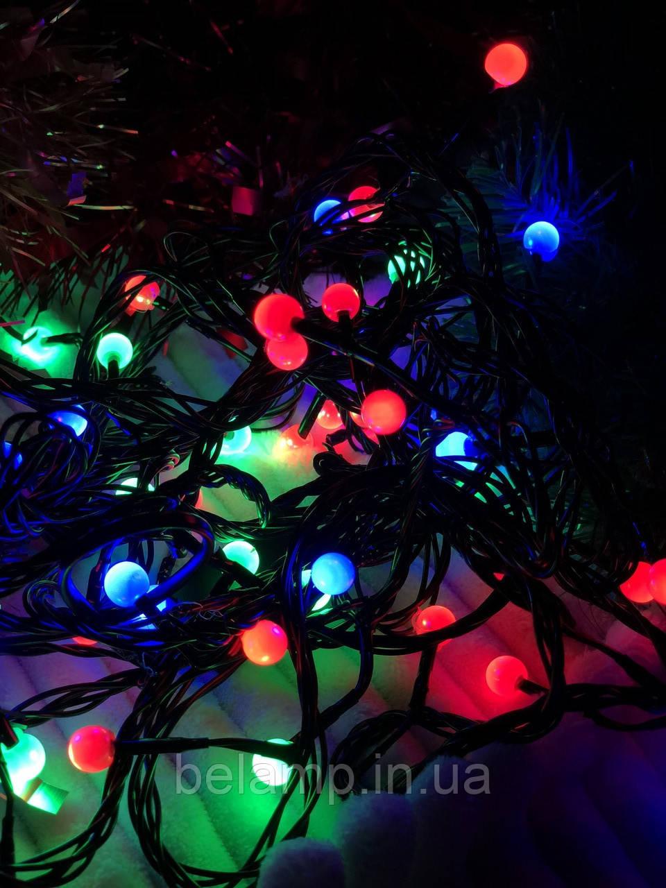 """Новогодняя гирлянда  на елку «Разноцветный жемчуг"""""""