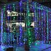 Світлодіодна гірлянда штора Curtain 3х3 метра, 600 LED, колір RGB