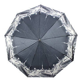 Зонт женский полуавтомат Calm Rain MR-483-5 Серый