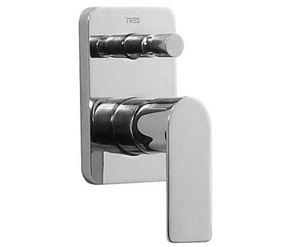 Встраиваемый смеситель для ванны и душа Tres Loft 200.180.01