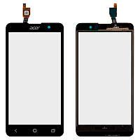 Сенсорный экран (тачскрин) Acer Z520 Liquid, чёрный