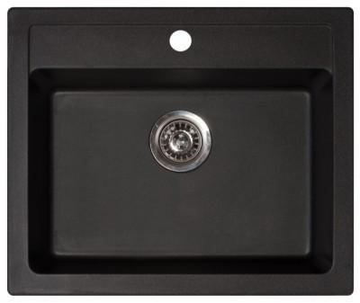 Кухонная мойка METALAC X GRANIT QUADRO 60 (161965) черный