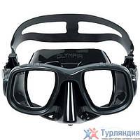 Маска для подводной охоты Omer Olympia Mask Чёрный