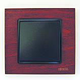 Розетки и выключатели Испания премиум Simon (красное дерево), фото 3