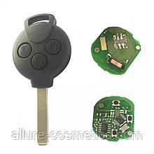Ключ на Smart 451 з чіпом