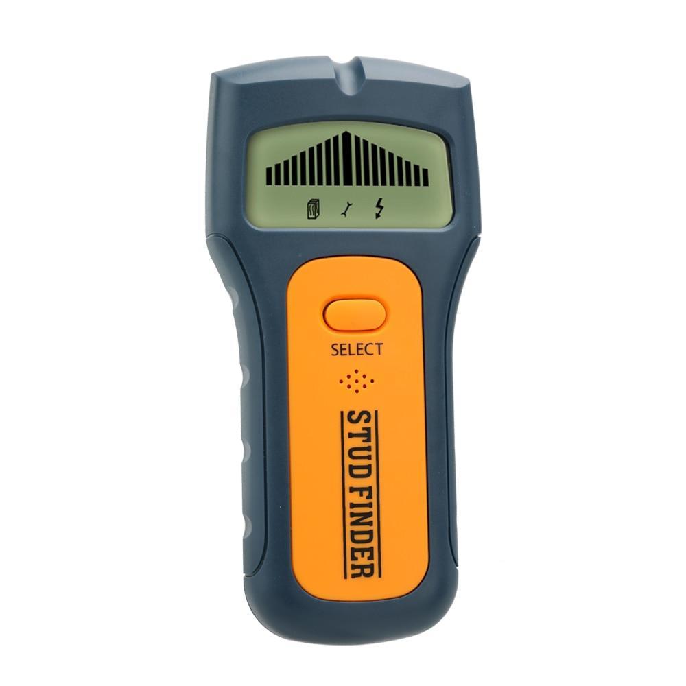Детектор цифровой 3 в 1 для выявления скрытой электропроводки, металла, дерева в стенах.