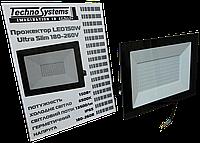 Прожектор LED 150W Ultra Slim 180-260V 13500Lm 6500K IP65 SMD, фото 1