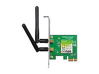 WiFi адаптер PCI-E TP-LINK TL-WN881ND 300Mb, 2 съемные антенны