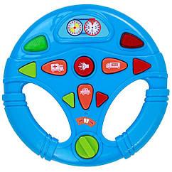 Мой первый интерактивный музыкальный руль BeBeLino 58083-1 (Синий)