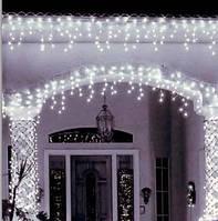 Гирлянда светодиодная уличная Бахрома 100 led, 3м Цвет: белый, белый тёплый