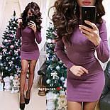 Женское платье с люрексом (6 цветов), фото 6