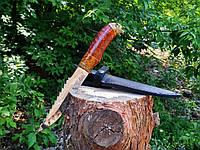 Охотничий нож для охоты и рыбалки Волк кап клена \ 65х13