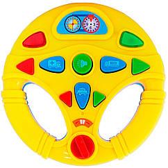 Мой первый интерактивный музыкальный руль BeBeLino 58083-2 (Желтый)