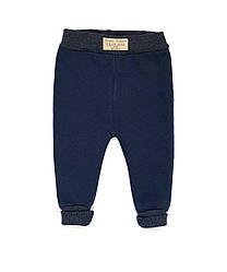Теплые штанишки на байке Andriana Kids темно-синие от 1 до 4 лет