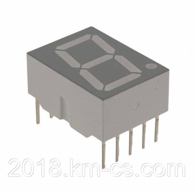 Индикатор светодиодный 7-сегментный LTS546AG (Lite On)