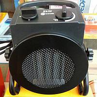 Тепловентилятор керамический CROWN LXF2P. Тепловая пушка электрическая 2 кВт. Обогреватель керамический.