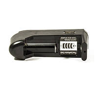 Зарядное устройство для Li-ion аккумуляторов 3,7v CR123A 16340 14500 18650 BL-BLD 003 USB