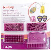 Набор штампов для создания текстуры Sculpey 50051779