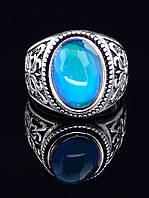 037863-190 Кольцо Кошачий глаз