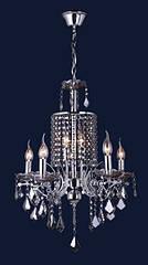 Люстра подвесная классическая Levistella 7025015-5+2 золото