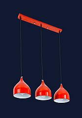 Люстра подвесная Levistella 7044461-3 красный