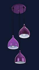 Люстра подвесная Levistella 7044462-3 фиолетовый