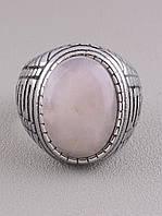 062639 Кольцо 'Stainless Steel' Розовый кварц