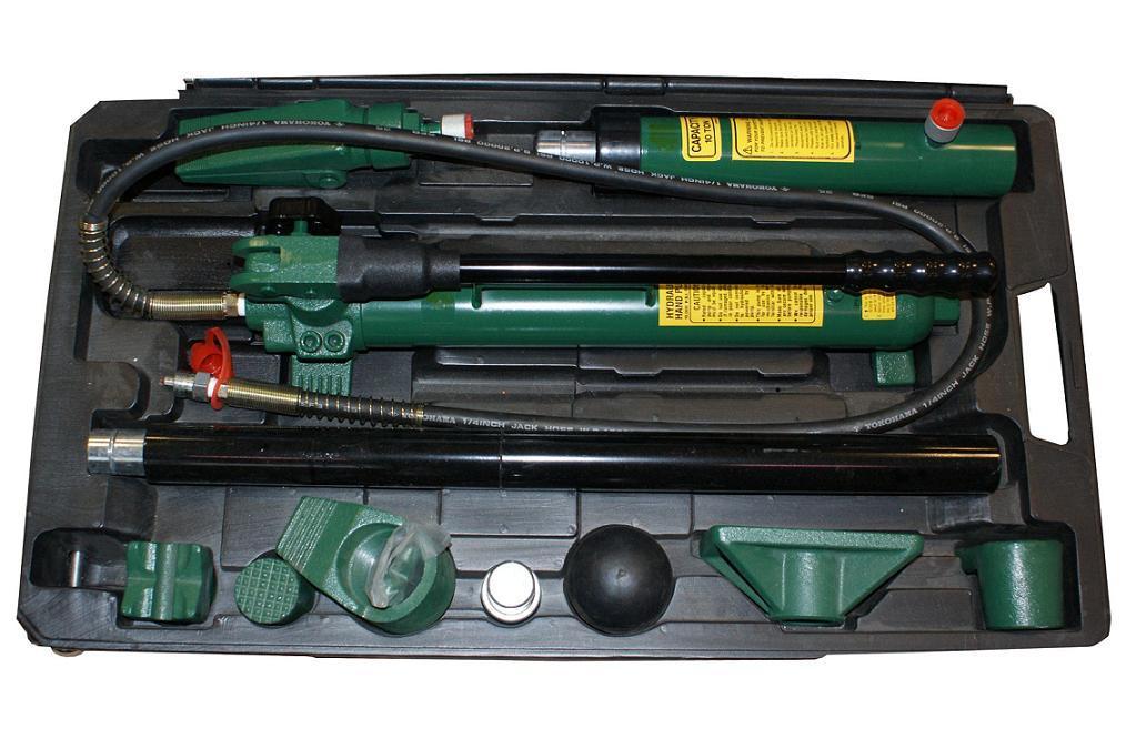 Набор гидроинструмента (10т 2-скоростной), 18 предметов (AE010015 Jonnesway)