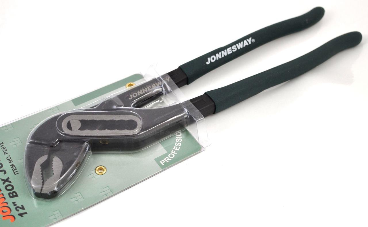 """Переставные клещи 12"""" (P2812 Jonnesway)"""