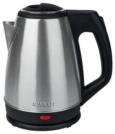 Электрочайник Scarlett SC-EK21S25 Silver, электрический чайник, електрочайник, фото 2