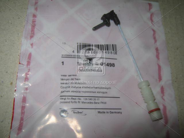 Датчик износа колодок торм. MB C 180 / MB C 200 / MB 300 (пр-во FEBI) 01498