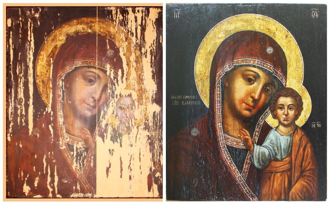 Реставрация живописи и антиквариата