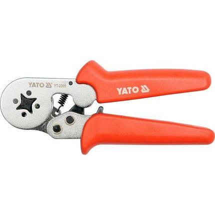 Клещи для обтискання кинцевикив, YT-2305 YATO, фото 2