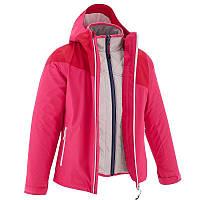 Куртка туристическая детская Quechua Hike 900 3 в 1