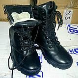 """Зимние тактические ботинки """"M-16"""". Кожа+кордура. Размеры: 40,41, 42, 43, 44, 45, фото 3"""