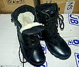 """Зимние тактические ботинки """"M-16"""". Кожа+кордура. Размеры: 40,41, 42, 43, 44, 45, фото 5"""