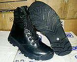 """Зимние тактические ботинки """"M-16"""". Кожа+кордура. Размеры: 40,41, 42, 43, 44, 45, фото 6"""