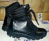 """Зимние тактические ботинки """"M-16"""". Кожа+кордура. Размеры: 40,41, 42, 43, 44, 45, фото 7"""