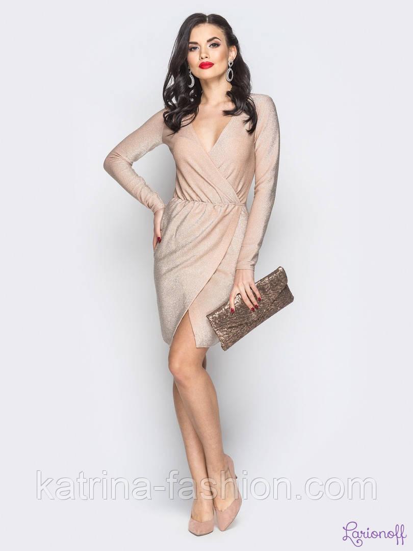 Женское платье из люрекса (6 цветов)