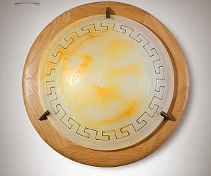 Плафон деревянный в греческом стиле