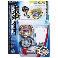 Волчок Hasbro Beyblade Swich Strike и пусковое устройство (E0723)