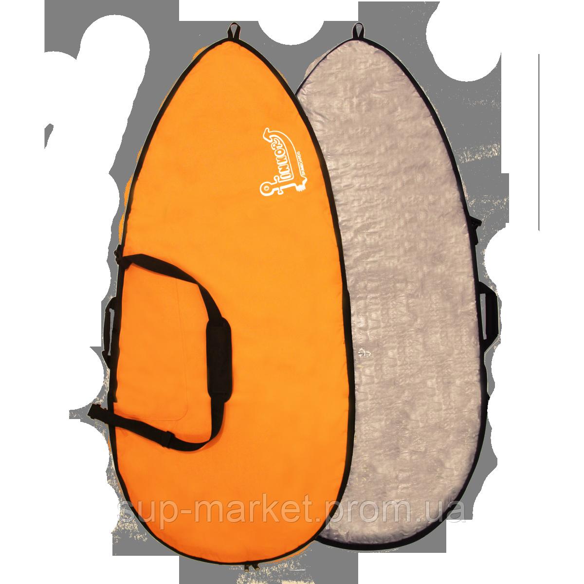 Чехол для вейксёрфа Linkorskimboards Wakesurf Pro Bag, 160 x 70cm, orange
