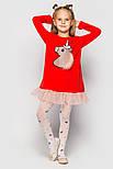 Детское платье с оборками из фатина (расцветки и варинты нашивок), фото 10