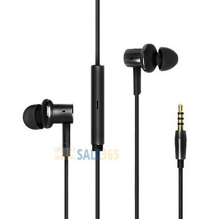 Гарнитура Xiaomi MI7 black, вакуумные, наушники с микрофоном для телефона, фото 2