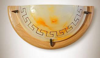 Дерев'яний плафон половинка в грецькому стилі