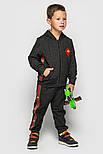 Детский спортивный костюм для мальчиков и девочек (в расцветках с нашивками), фото 10
