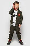 Детский спортивный костюм для мальчиков и девочек (в расцветках с нашивками), фото 8