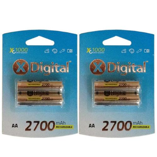 Аккумуляторы X-Digital AA 2700 mAh