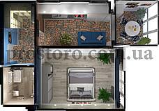 ЖК На Прорезной Планировка 1-комнатной квартиры 42.59 м2 тип 1Б/1В (без перепланировки)